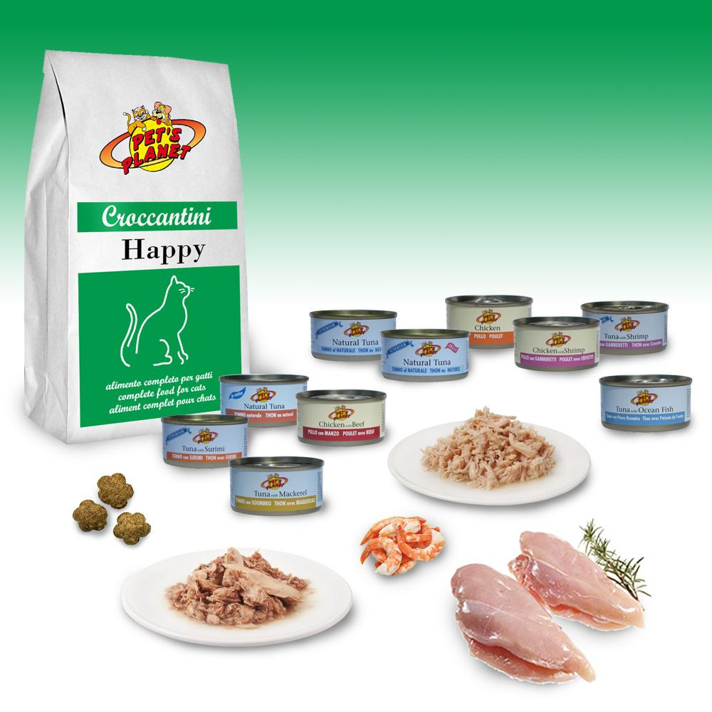 Filetti di pollo, croccantini e tonno al naturale: ecco la nuova dieta per GATTI FELICI!