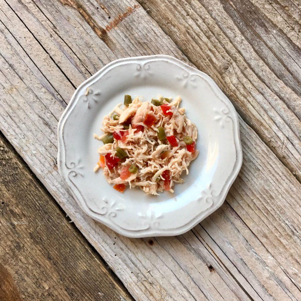 Ricetta a 4 zampe: insalata di pollo, fagiolini e pomodorini
