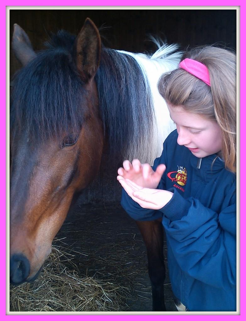 Una giovane amazzone tra gli amici di Pet's Planet!