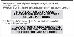 Manuale di Buone Pratiche per la produzione di Pet Food sicuro F.E.D.I.A.F.