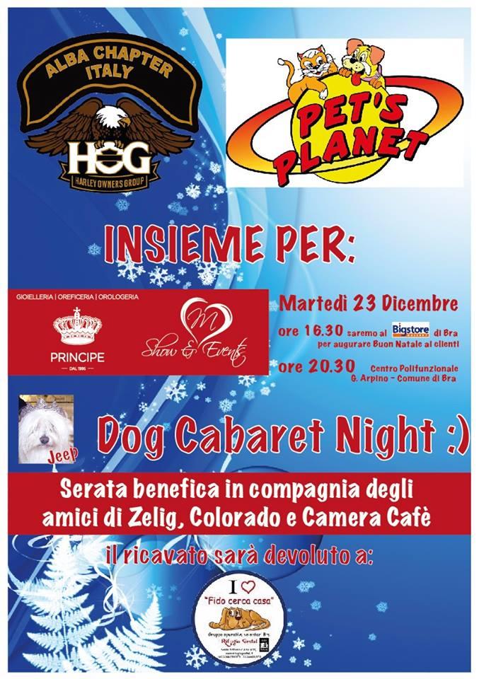 Pet's Planet vi invita al Dog Cabaret Night, serata benefica per il canile Gretel