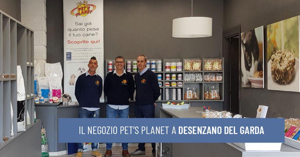 A Desenzano del Garda il nuovo negozio Pet's Planet per il benessere di cani e gatti