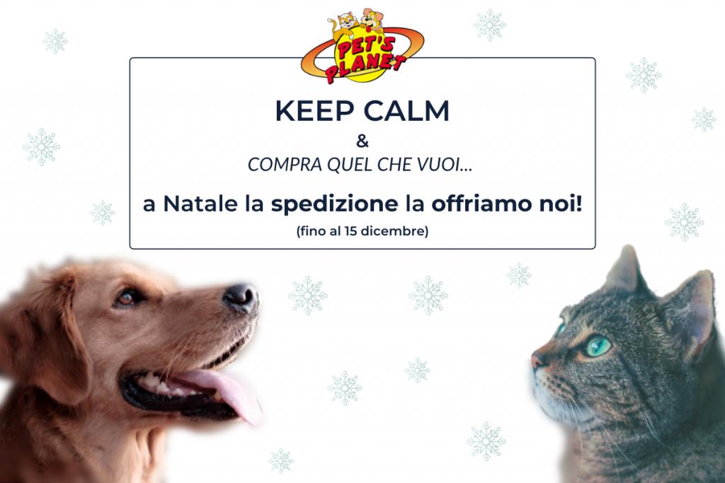 Con gli alimenti Pet's Planet un Natale di felicità e benessere per cani e gatti